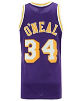 5511047fa0c Mitchell   Ness Men s Shaquille O Neal Los Angeles Lakers Hardwood Classic  Swingman Jersey
