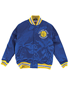 Mitchell & Ness Men's Golden State Warriors Satin Jacket