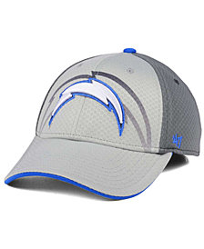 '47 Brand Los Angeles Chargers Greyscale Contender Flex Cap