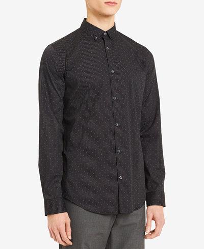 Calvin Klein Men's Diamond Stripe Shirt