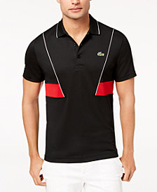Lacoste Men's Novak Ultra Dry Piqué Tennis Polo