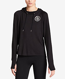Tommy Hilfiger Sport Logo Drawstring Hoodie, Created for Macy's