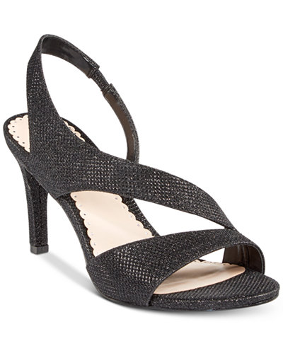 Charter Club Lailah Asymmetrical Evening Sandals, Created for Macy's