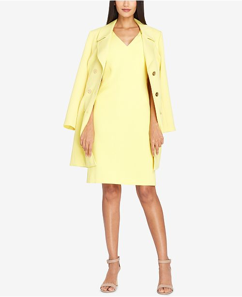 383ef4ffa97c Tahari ASL Double-Breasted Trench Coat & Reviews - Jackets ...
