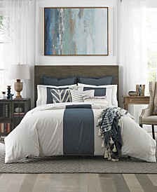 Tommy Hilfiger Cove Stripe 3-Pc. Full/Queen Duvet Cover Set
