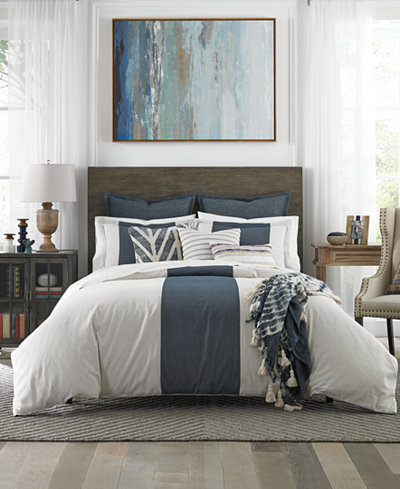 Tommy Hilfiger Cove Stripe 3-Pc. Comforter Sets