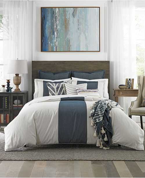 Tommy Hilfiger Cove Stripe 3-Pc. Bedding Collection