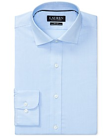 Lauren Ralph Lauren Men's Slim-Fit Stretch Dress Shirt
