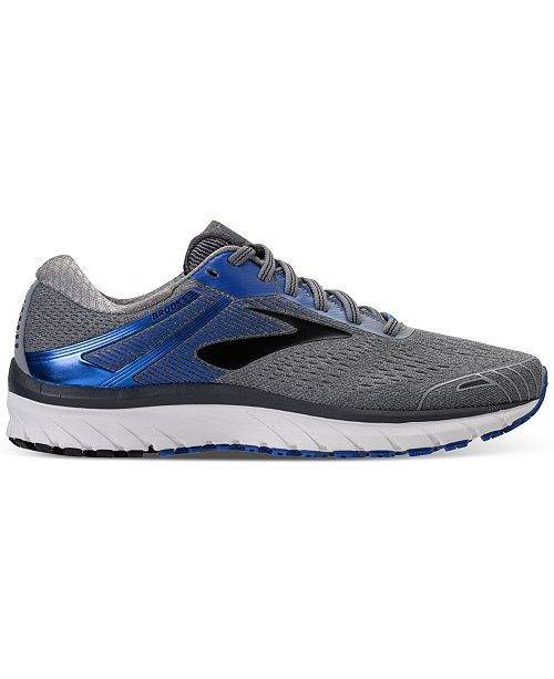 9bc012c6831 ... Brooks Men s Adrenaline GTS 18 Wide Width Running Sneakers from Finish  ...