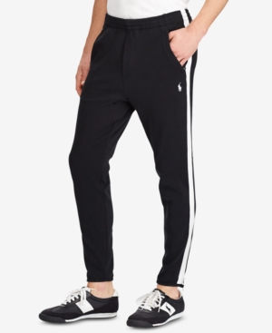 Polo Ralph Lauren Men's Big & Tall Interlock Track Pants
