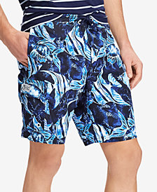 "Polo Ralph Lauren Men's 8.5"" Kailua Tropical Swim Trunks"