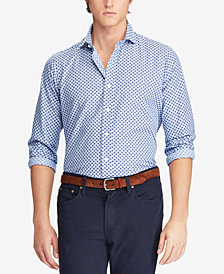 Polo Ralph Lauren Men's Classic Fit Printed Shirt
