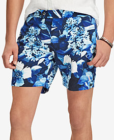 "Polo Ralph Lauren Men's 6"" Tropical-Print Swim Trunks"