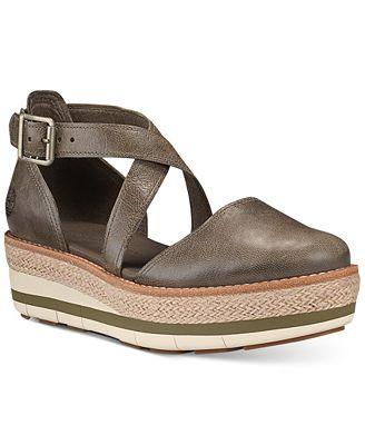 Timberland Women's Emerson Platform Sandals Women's Shoes