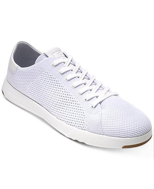 49fe4fdf1 Cole Haan Men s GrandPro Tennis StitchLite Sneakers   Reviews ...