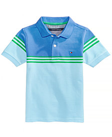 Tommy Hilfiger Colorblocked Cotton Polo Shirt, Little Boys