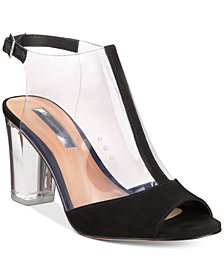 I.N.C. Women's Kelisin Block Heel Dress Sandals, Created for Macy's