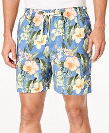 "Tommy Bahama Men's Naples Mahalo Beach Floral-Print Twill 6"" Swim Trunks"