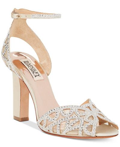 Badgley Mischka Hart Evening Sandals