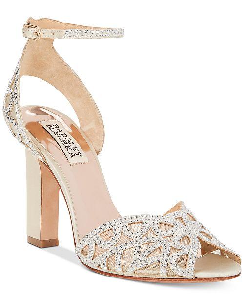 d2c0f4b6d54b Badgley Mischka Hart Evening Sandals   Reviews - Sandals   Flip ...