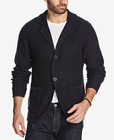 Weatherproof Vintage Men's Chunky-Knit Cardigan