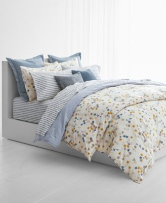 Superbe With Vintage Inspired Florals, Yarn Dyed Stripes, And Painterly Details,  The Hanah Bedding Collection From Lauren Ralph Lauren Uses Rich Textures  And A ...