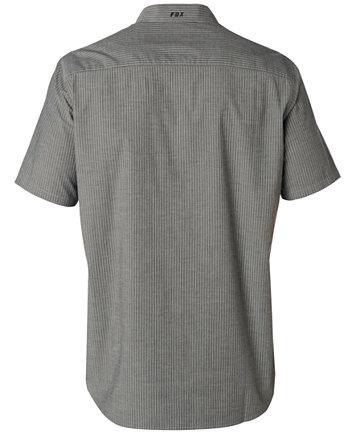Fox Men's Short Sleeve Button Down Shirt - Casual Button-Down ...