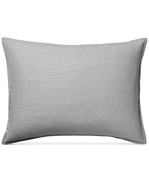 Hotel Collection  525-Thread Count Yarn Dyed Standard Sham, Created for Macy's