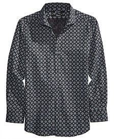 Mosaic-Print Shirt, Big Boys
