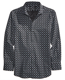 DKNY Mosaic-Print Shirt, Big Boys
