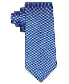 로렌 랄프로렌 보이즈 넥타이 Lauren Ralph Lauren Dot-Print Silk Necktie, Big Boys,Blue