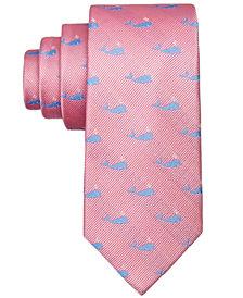 Lauren Ralph Lauren Whale-Print Silk Necktie, Big Boys