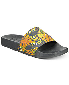 Kenneth Cole Reaction Men's Palm-Print Slide Sandals
