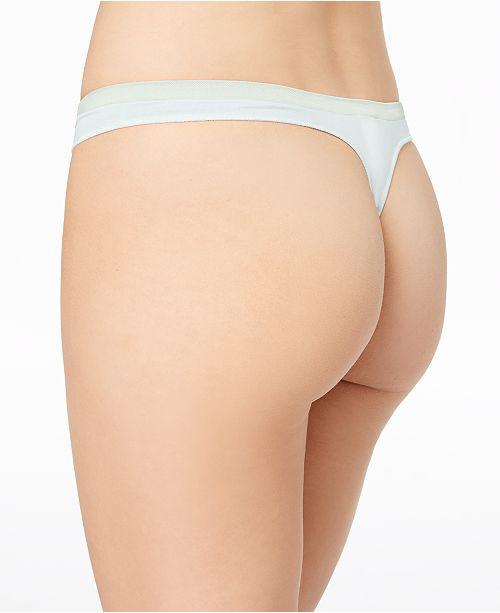 0b1512654d6f53 Calvin Klein Pure Seamless Thong QD3544 & Reviews - Bras, Panties ...