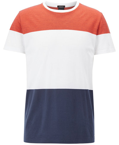 BOSS Men's Colorblocked Cotton T-Shirt