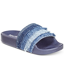 Kenneth Cole Frayed Sandals, Little & Big Girls