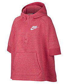 Nike Sportswear Poncho, Big Girls