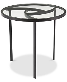 CLOSEOUT! Asterick End Table, Quick Ship