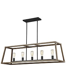 Feiss Gannet 5 Light Chandelier