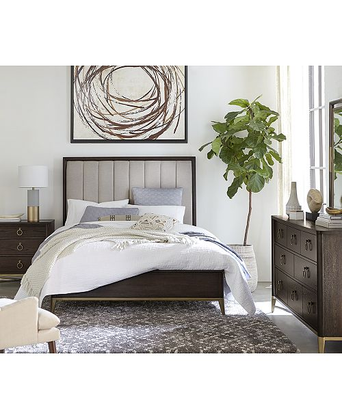 Furniture Ethan Upholstered Bedroom Furniture Collection, Created for Macy's