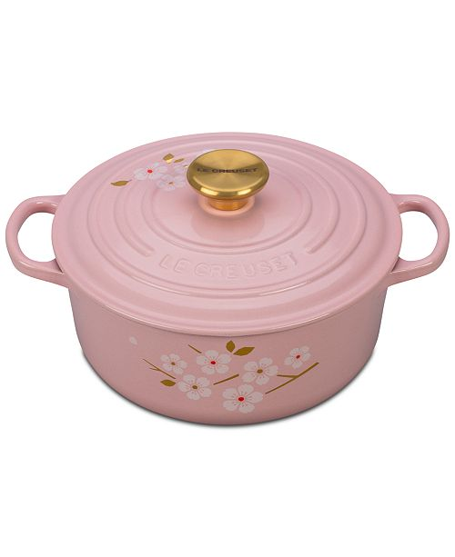 Le Creuset Signature Sakura 275 Qt French Dutch Oven Cookware