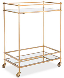 Grinell Bar Cart, Quick Ship
