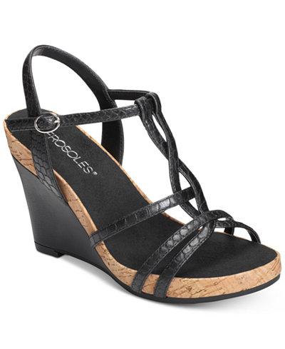 Aerosoles Plush Song Wedge Sandals