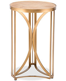 Spinner Small End Table, Quick Ship