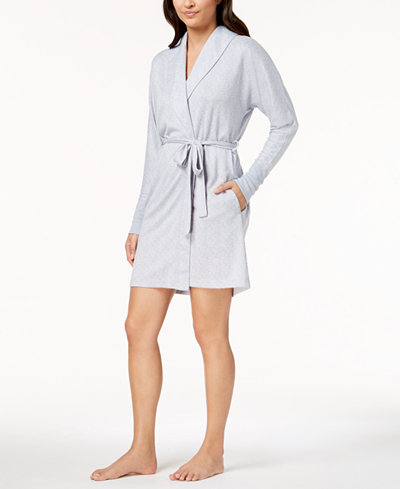 Ande Whisperluxe Ribbed-Cuff Robe