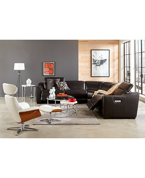 Superb Anniston 31 Leather Swivel Chair Recliner Ottoman Set Ncnpc Chair Design For Home Ncnpcorg
