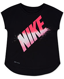 Nike Graphic-Print Dri-FIT T-Shirt, Little Girls
