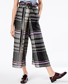 Weekend Max Mara Artur Linen Wide-Leg Pants