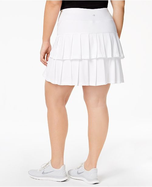 White Skort Plus for Macy's Created Size Tennis Ideology Bright 18w6qtzt