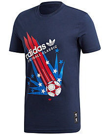 adidas Men's Originals 94 Soccer Poster T-Shirt